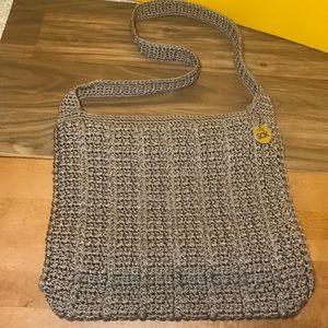 👛THE SAK Womens Crotchet/ Shoulder Bag Brown NICE